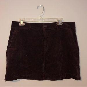 Corduroy Ralph Lauren Skirt